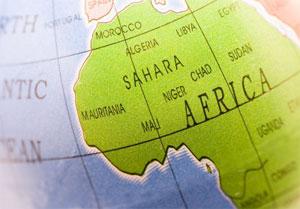 Mikrolån i Afrika og mikrolån i andre ulande.