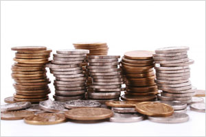 Mønter til fx Mikrolån
